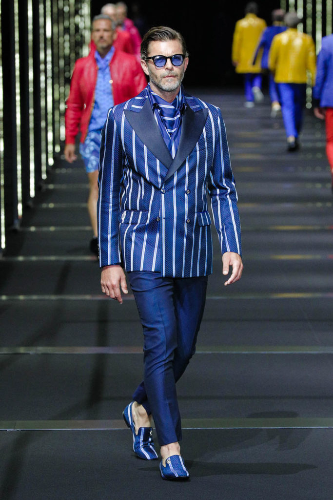 Billionaire Milan Fashion Week Men's Spring Summer 2018 - Sagaboi - Look 17