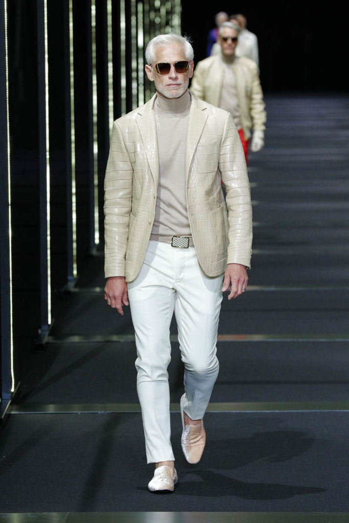 Billionaire Milan Fashion Week Men's Spring Summer 2018 - Sagaboi - Look 2