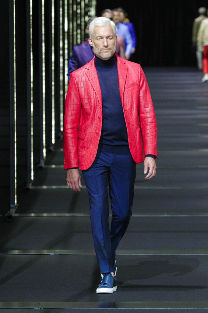Billionaire Milan Fashion Week Men's Spring Summer 2018 - Sagaboi - Look 7