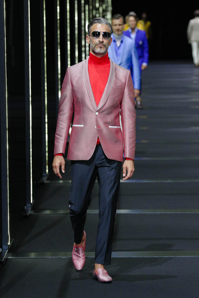 Billionaire Milan Fashion Week Men's Spring Summer 2018 - Sagaboi - Look 9