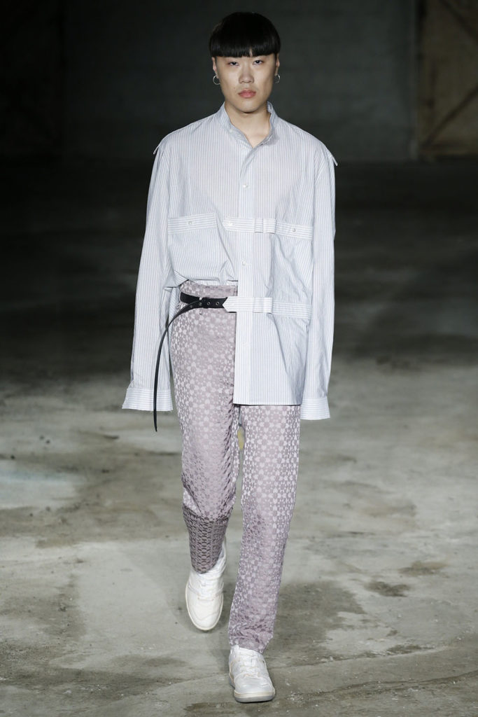Damir Doma Milan Fashion Week Men's Spring Summer 2018 - Sagaboi - Look 10