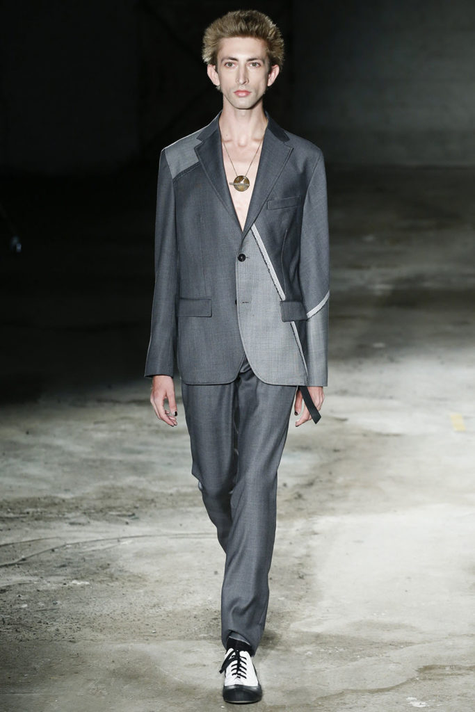 Damir Doma Milan Fashion Week Men's Spring Summer 2018 - Sagaboi - Look 12