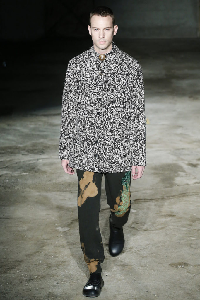 Damir Doma Milan Fashion Week Men's Spring Summer 2018 - Sagaboi - Look 19