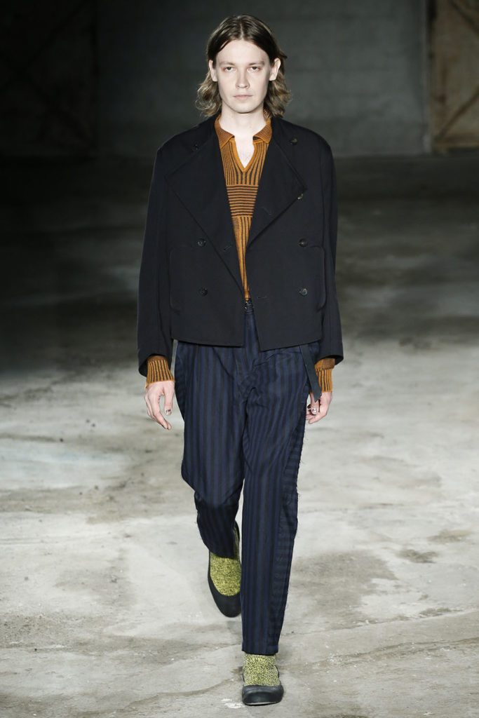 Damir Doma Milan Fashion Week Men's Spring Summer 2018 - Sagaboi - Look 21