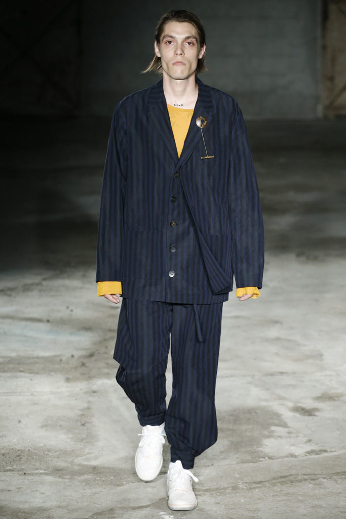Damir Doma Milan Fashion Week Men's Spring Summer 2018 - Sagaboi - Look 26