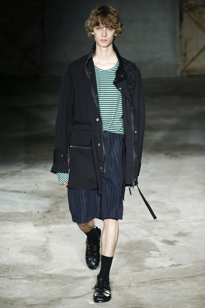 Damir Doma Milan Fashion Week Men's Spring Summer 2018 - Sagaboi - Look 28