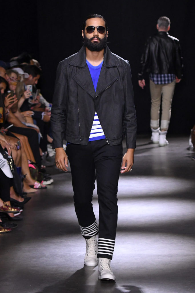 Grungy Gentleman New York Fashion Week Men's Spring Summer 2018 - Sagaboi - Look 10