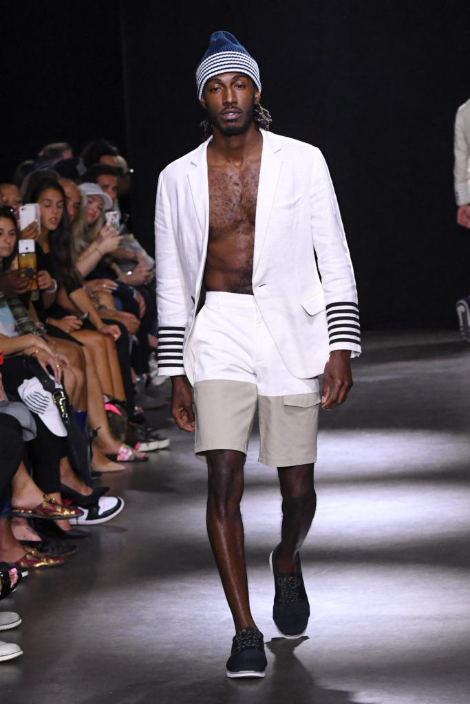 Grungy Gentleman New York Fashion Week Men's Spring Summer 2018 - Sagaboi - Look 7
