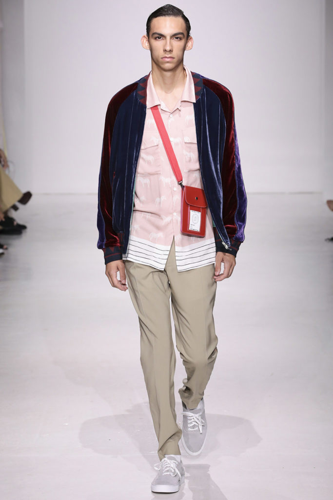 Ovadia and Sons New York Fashion Week Men's Spring Summer 2018 - Sagaboi - Look 16