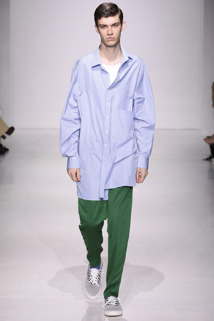 Ovadia and Sons New York Fashion Week Men's Spring Summer 2018 - Sagaboi - Look 17