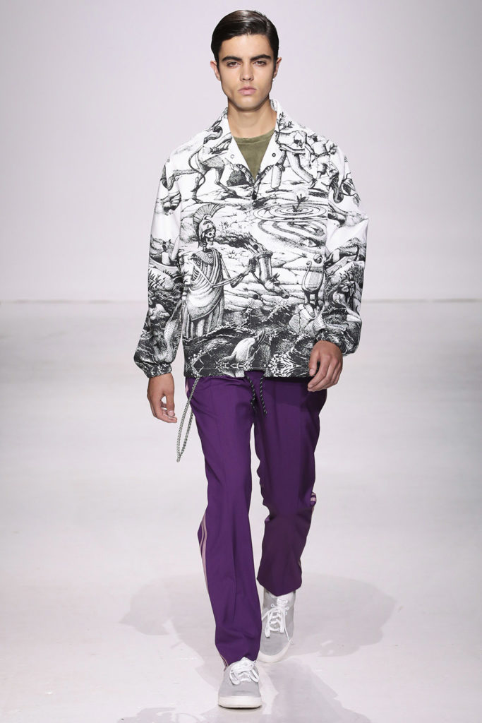 Ovadia and Sons New York Fashion Week Men's Spring Summer 2018 - Sagaboi - Look 23