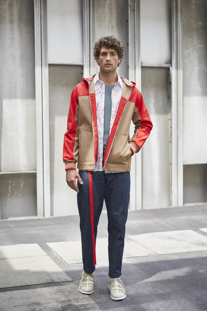 Perry Ellis New York Fashion Week Men's Spring Summer 2018 - Sagaboi - Look 12