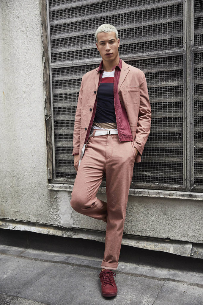 Perry Ellis New York Fashion Week Men's Spring Summer 2018 - Sagaboi - Look 17