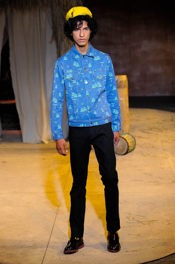 Teddy Ondo Ella New York Fashion Week Men's Spring Summer 2018 - Sagaboi - Look 12