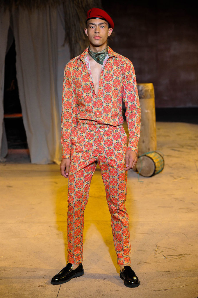 Teddy Ondo Ella New York Fashion Week Men's Spring Summer 2018 - Sagaboi - Look 19