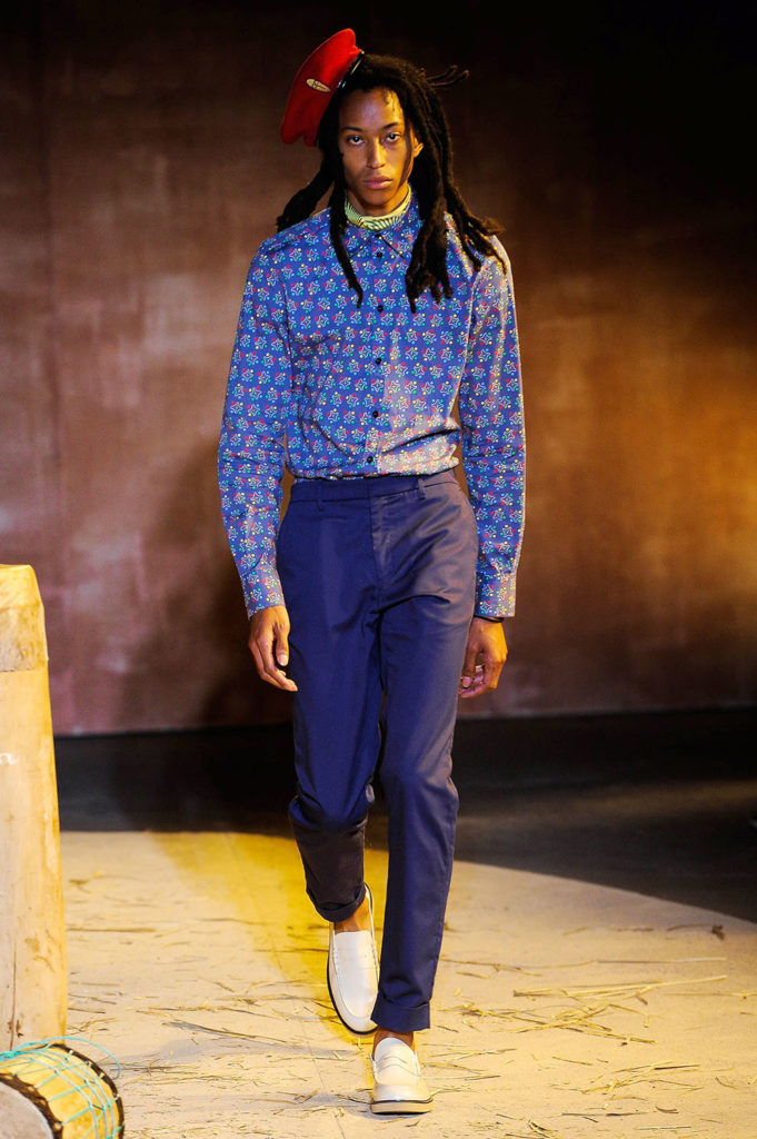 Teddy Ondo Ella New York Fashion Week Men's Spring Summer 2018 - Sagaboi - Look 24