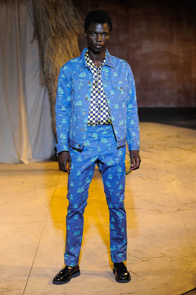Teddy Ondo Ella New York Fashion Week Men's Spring Summer 2018 - Sagaboi - Look 3