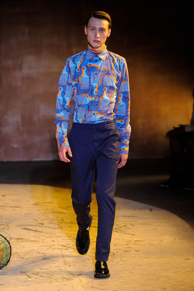 Teddy Ondo Ella New York Fashion Week Men's Spring Summer 2018 - Sagaboi - Look 7