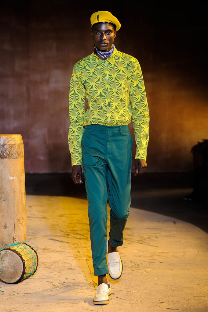 Teddy Ondo Ella New York Fashion Week Men's Spring Summer 2018 - Sagaboi - Look 9