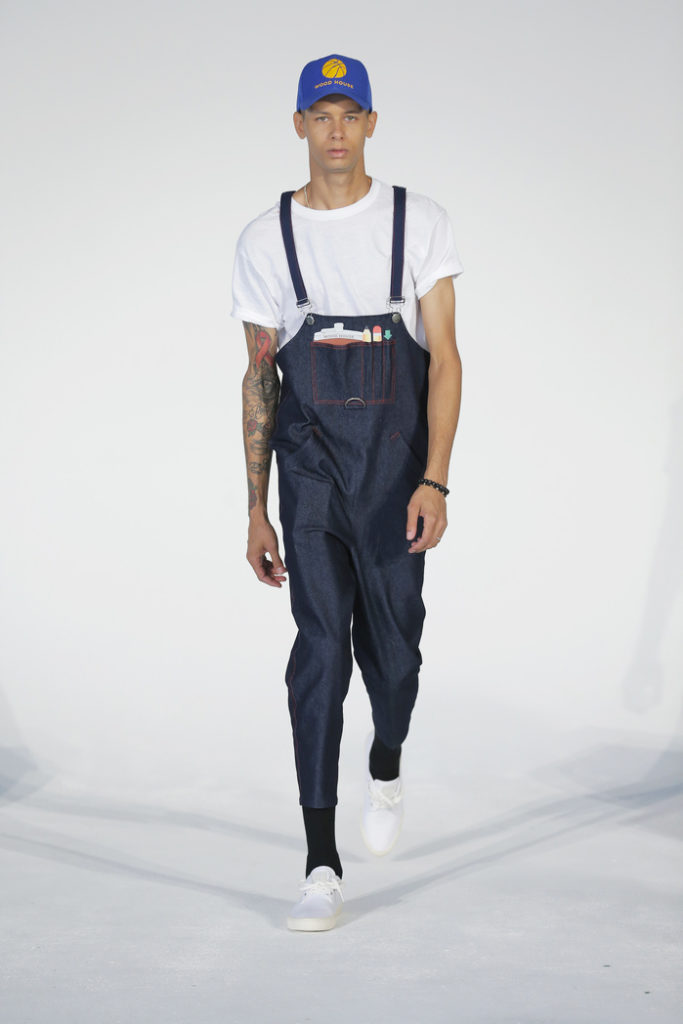 Woodhouse New York Fashion Week Men's Spring Summer 2018 - Sagaboi - Look 1