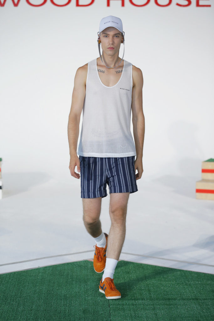 Woodhouse New York Fashion Week Men's Spring Summer 2018 - Sagaboi - Look 2