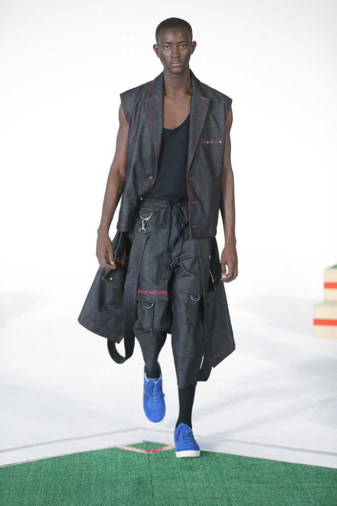 Woodhouse New York Fashion Week Men's Spring Summer 2018 - Sagaboi - Look 8