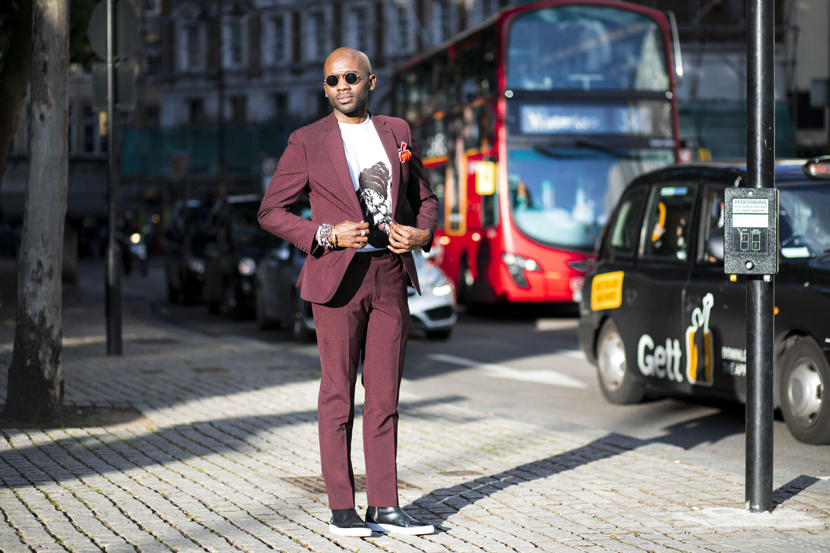 Geoff K. Cooper (Street Style Look) photographed by Marco Vazque