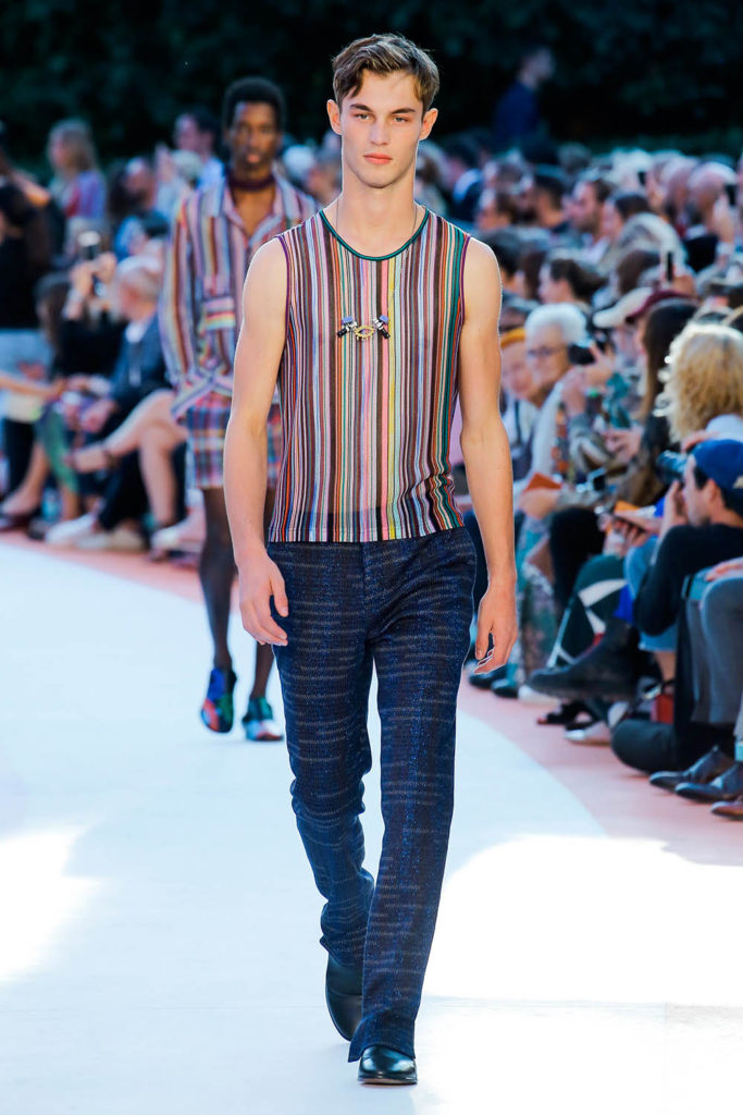 Missoni Milan Fashion Week Spring Summer 2018 - Sagaboi - Look 44