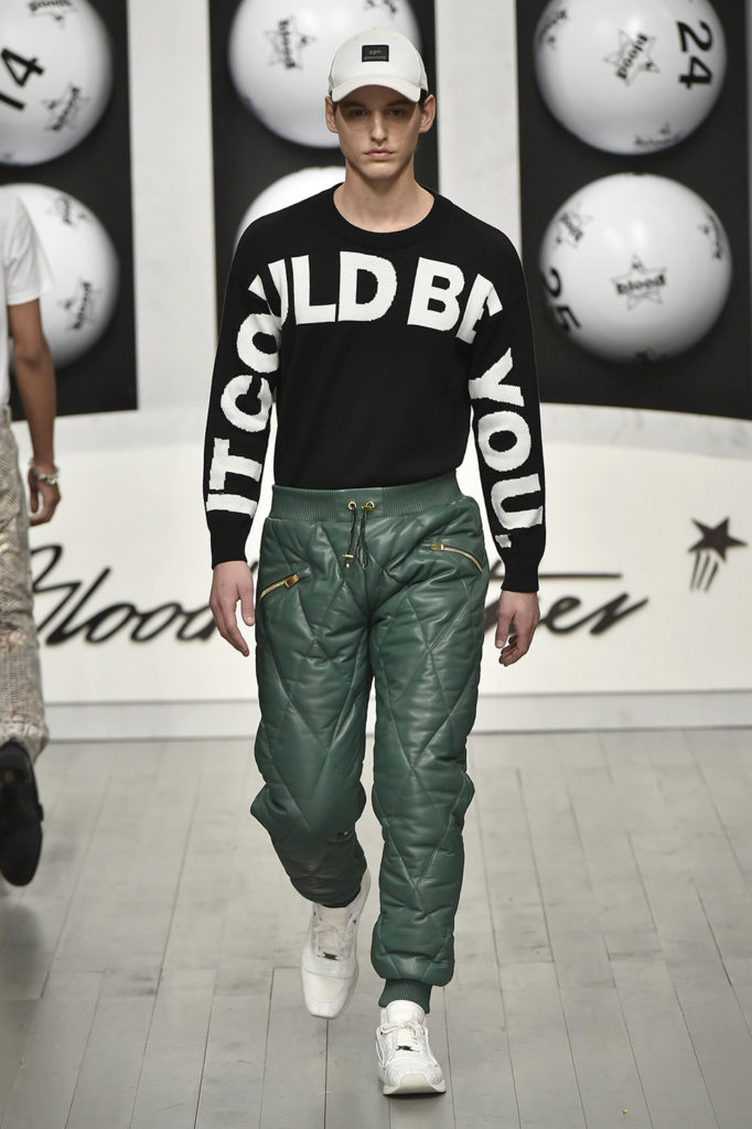 Blood Brothers London Fashion Week Men's Fall Winter 2018 - Sagaboi - Look 10
