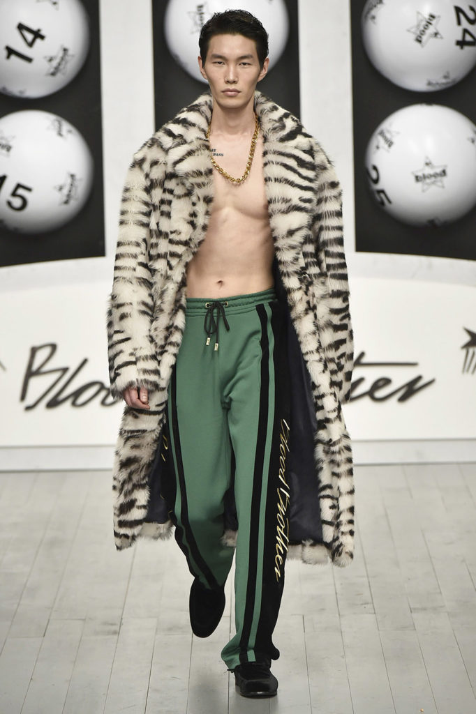 Blood Brothers London Fashion Week Men's Fall Winter 2018 - Sagaboi - Look 12