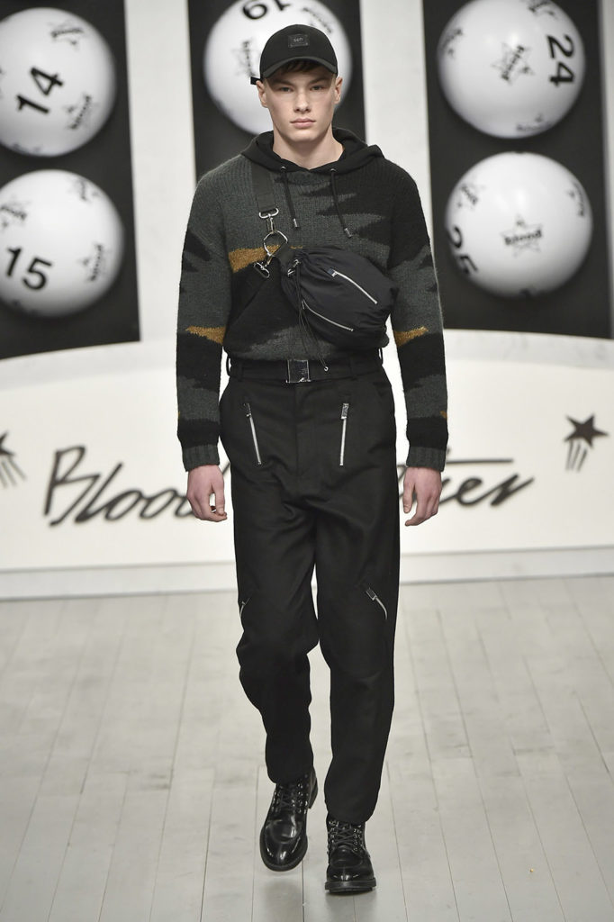 Blood Brothers London Fashion Week Men's Fall Winter 2018 - Sagaboi - Look 13