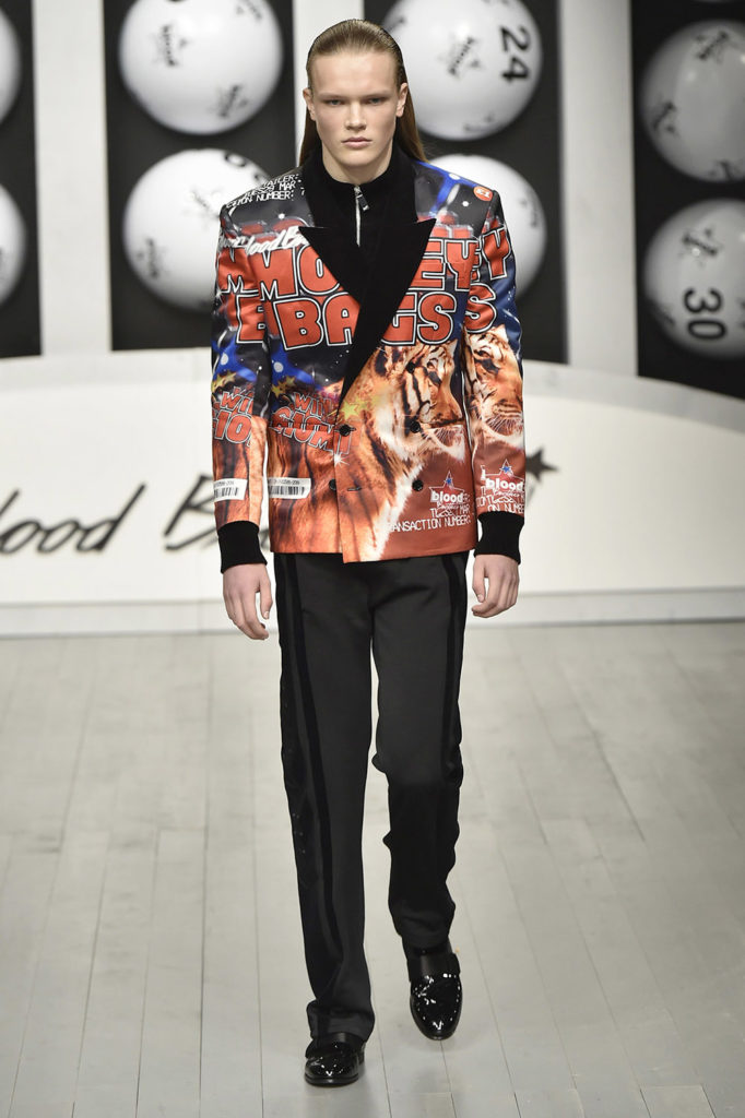 Blood Brothers London Fashion Week Men's Fall Winter 2018 - Sagaboi - Look 15