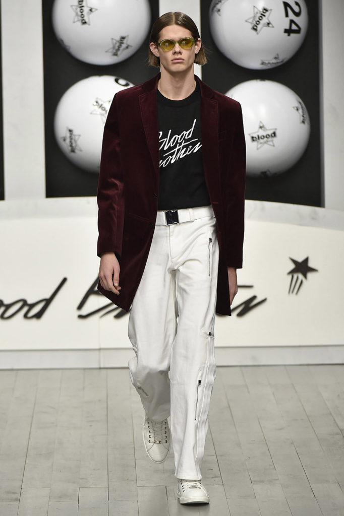 Blood Brothers London Fashion Week Men's Fall Winter 2018 - Sagaboi - Look 18