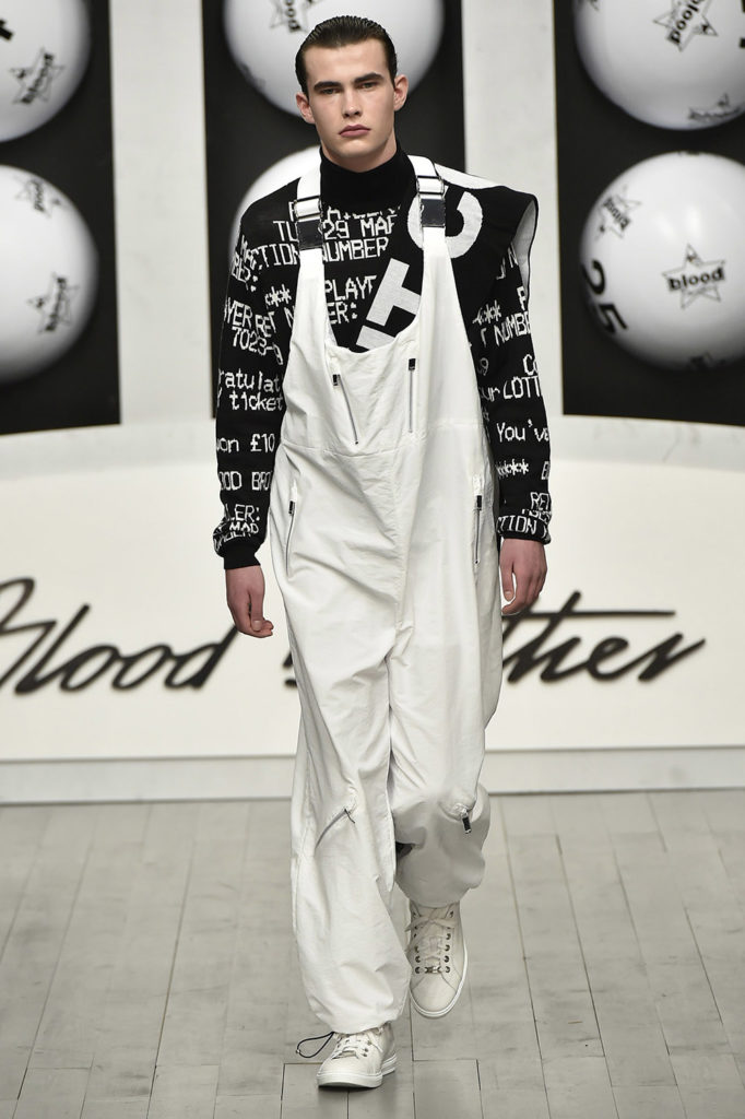 Blood Brothers London Fashion Week Men's Fall Winter 2018 - Sagaboi - Look 22