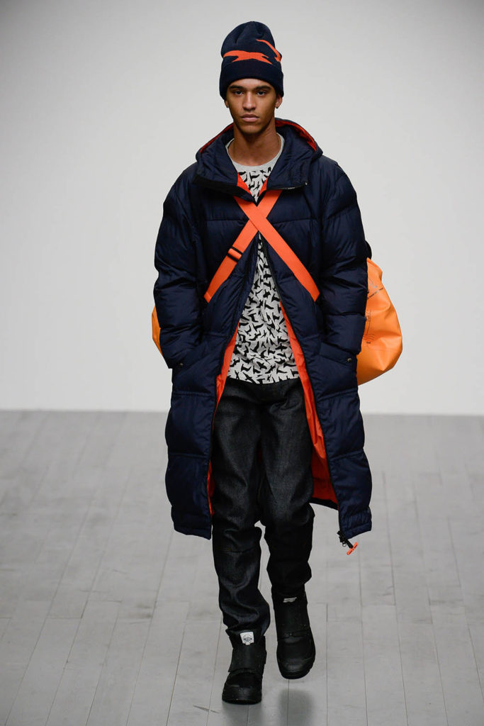 Christopher Raeburn London Fashion Week Men's Fall Winter 2018 - Sagaboi - Look 16