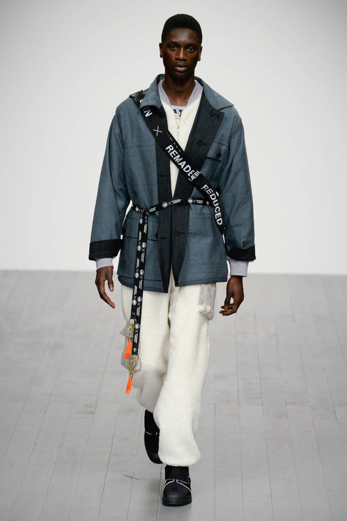 Christopher Raeburn London Fashion Week Men's Fall Winter 2018 - Sagaboi - Look 8