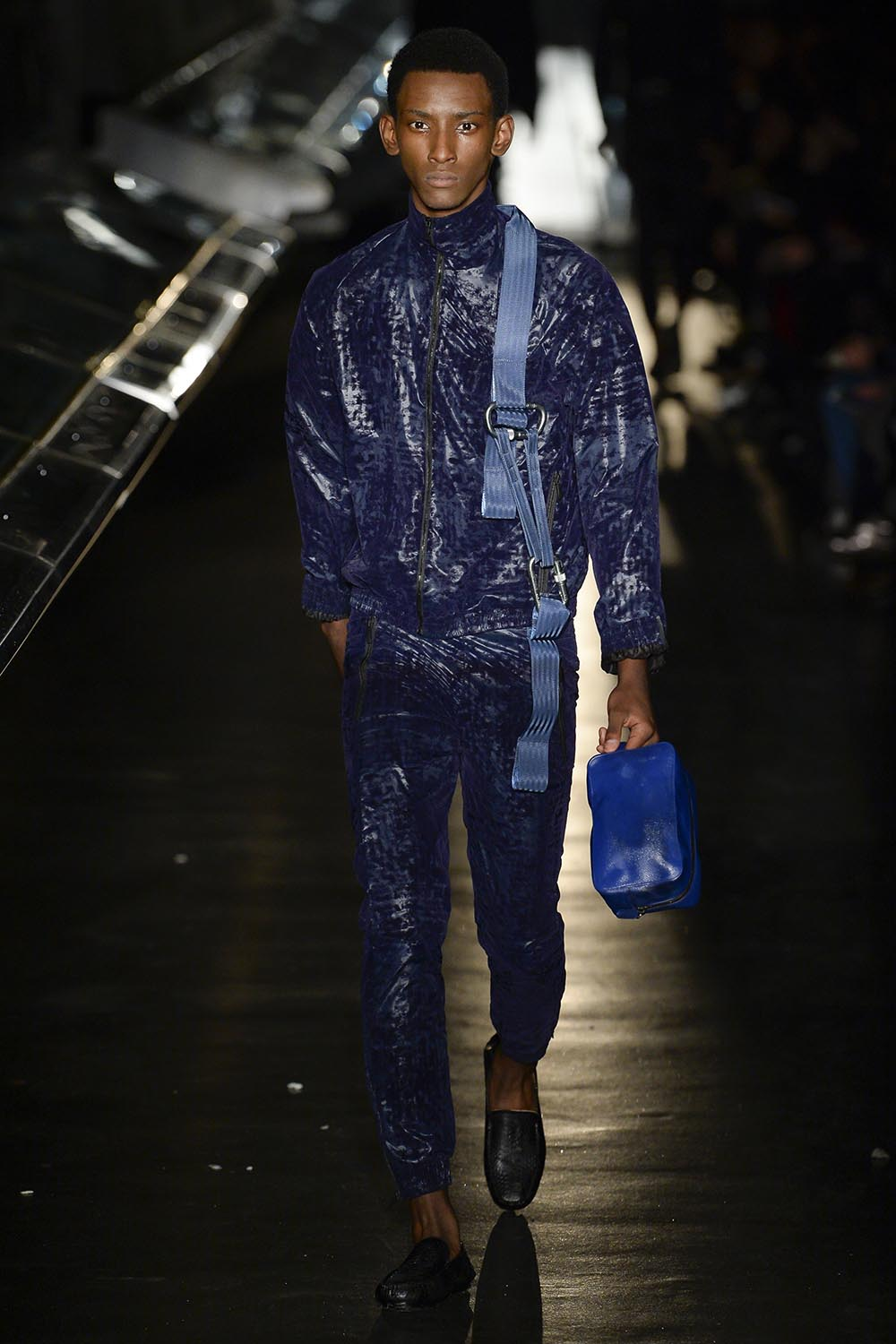 Male model walking the catwalk at Cottweiler Fall Winter 18 men'
