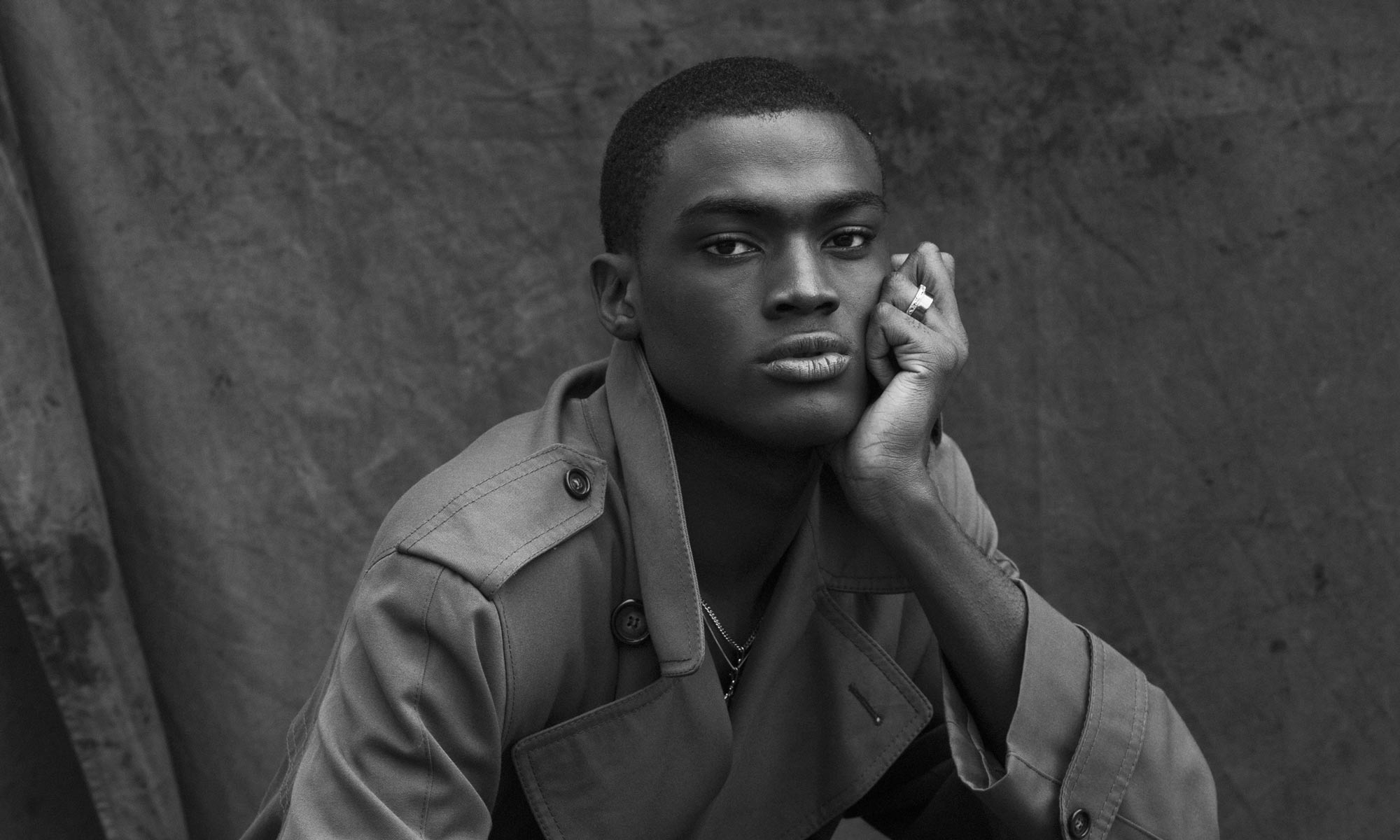 David obennebo top black male model 2018 sagaboi