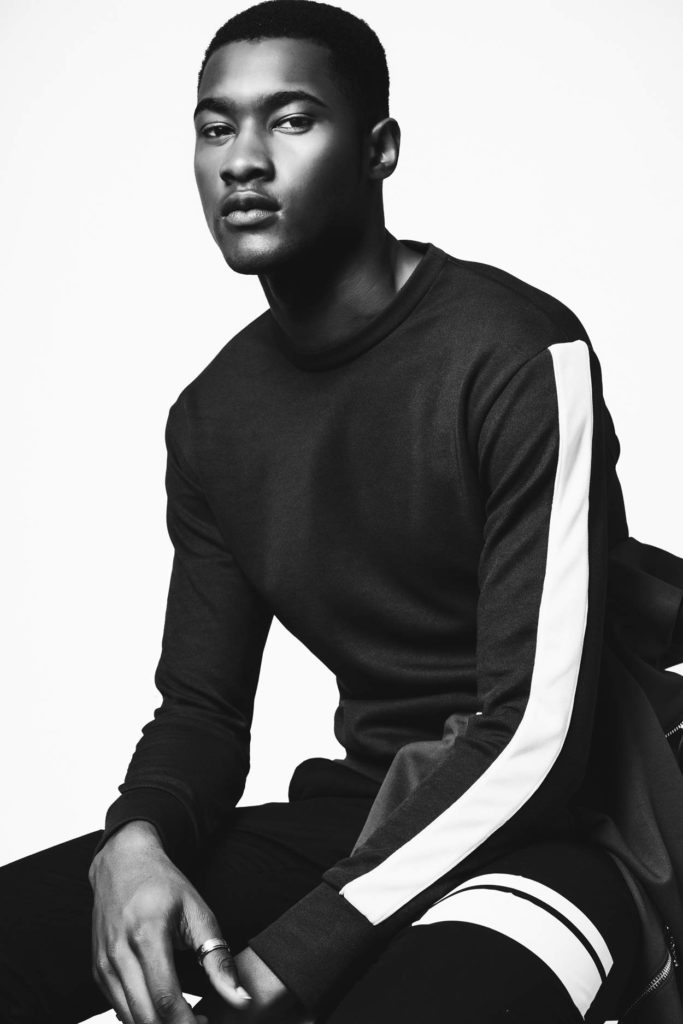 Jourdan Copeland by Adam Fussell - Top Black Male Model Story for Sagaboi and Sagaboi.com.