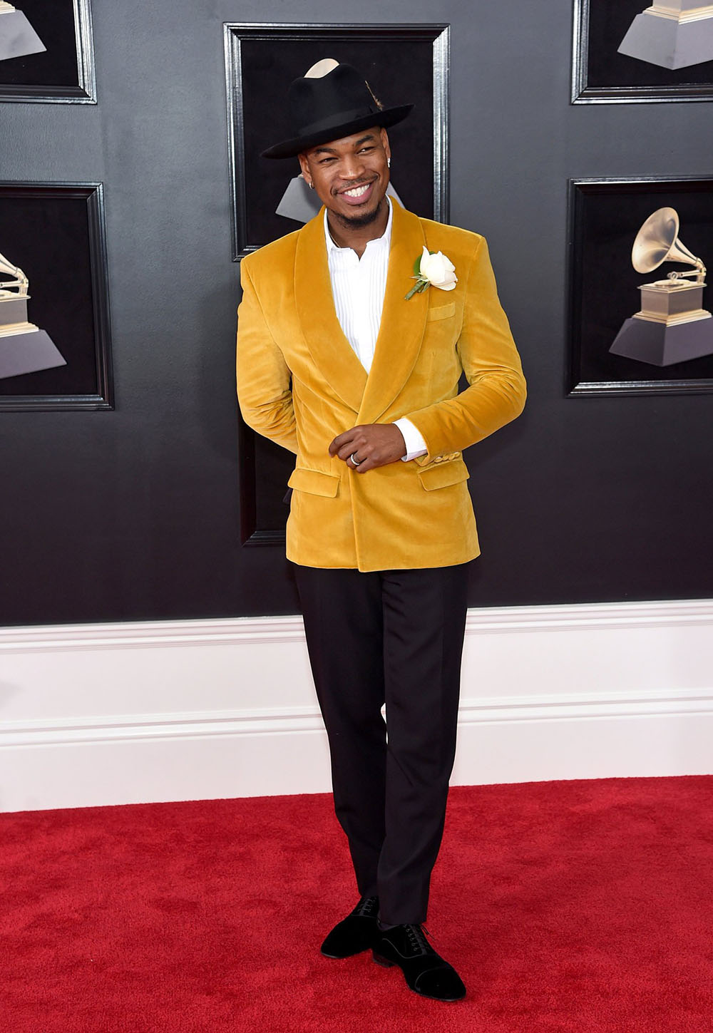 Neyo at the 2018 Grammy Awards. Best Dressed (Most Stylish) Men