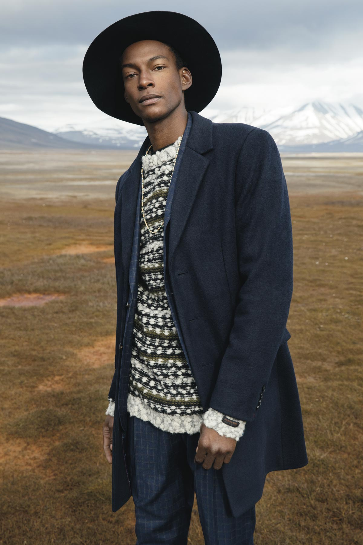 Ty Ogunkoya for Scotch and Soda - Top Black Male Model Story for Sagaboi and Sagaboi.com.