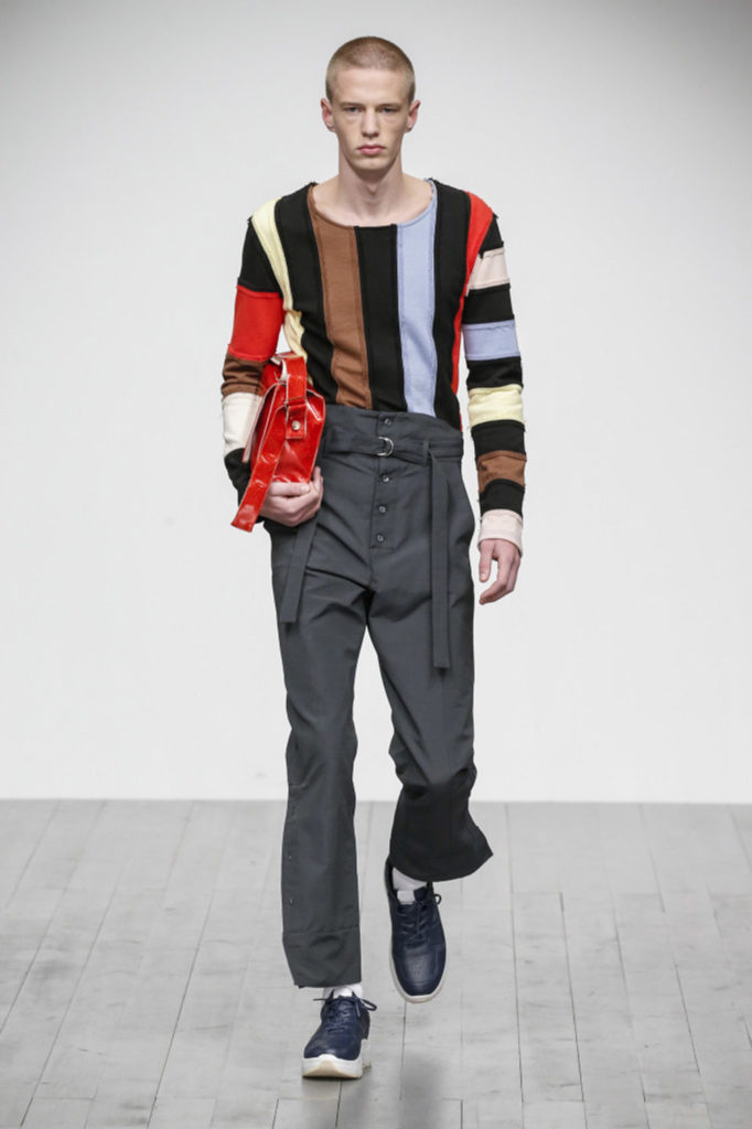 Alex Mullins London Fashion Week Men's Fall Winter 2018 - Sagaboi - Look 13