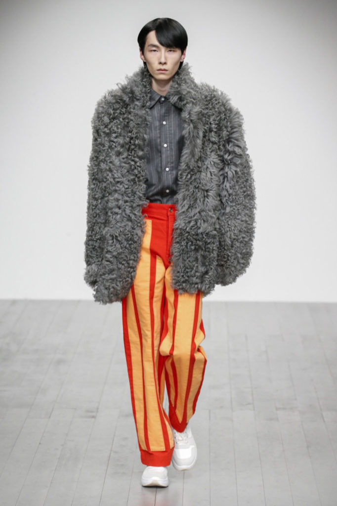 Alex Mullins London Fashion Week Men's Fall Winter 2018 - Sagaboi - Look 14