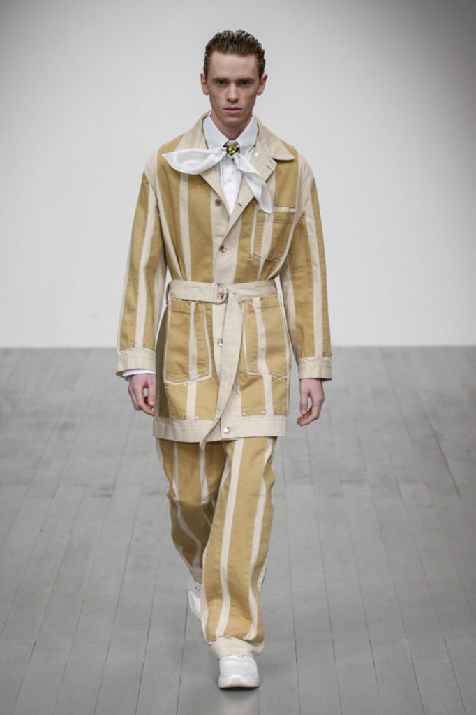 Alex Mullins London Fashion Week Men's Fall Winter 2018 - Sagaboi - Look 18