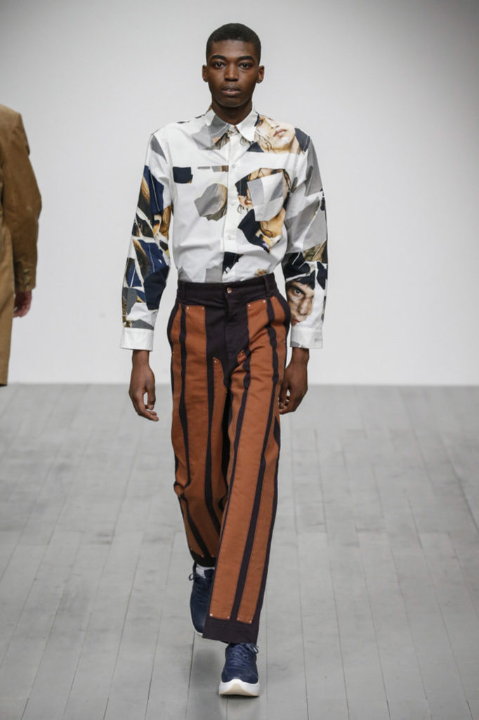 Alex Mullins London Fashion Week Men's Fall Winter 2018 - Sagaboi - Look 20
