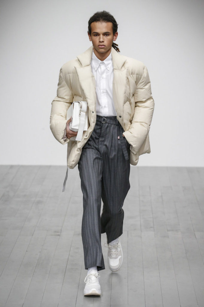 Alex Mullins London Fashion Week Men's Fall Winter 2018 - Sagaboi - Look 4
