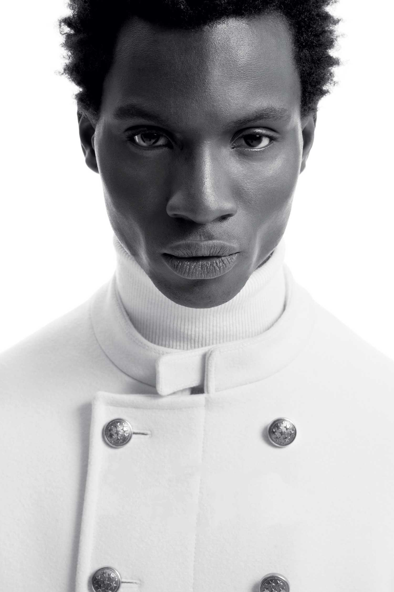 Adonis Bosso (Ivory Coast Model) - Top Black Male Model Story for Sagaboi and Sagaboi.com. Image by Ports 1961.