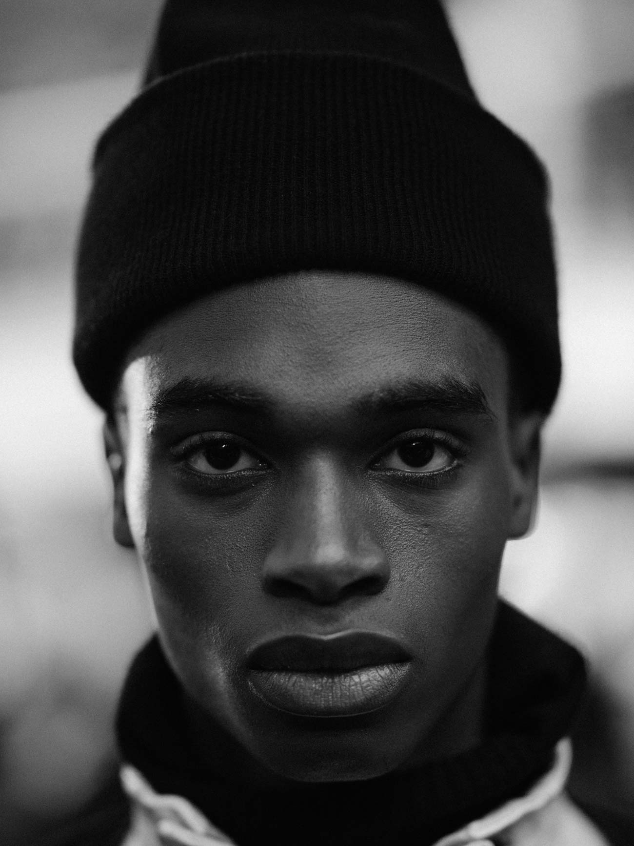 Bakay Diaby by Adam Katz Sinding - Top Black Male Model Story for Sagaboi and Sagaboi.com.