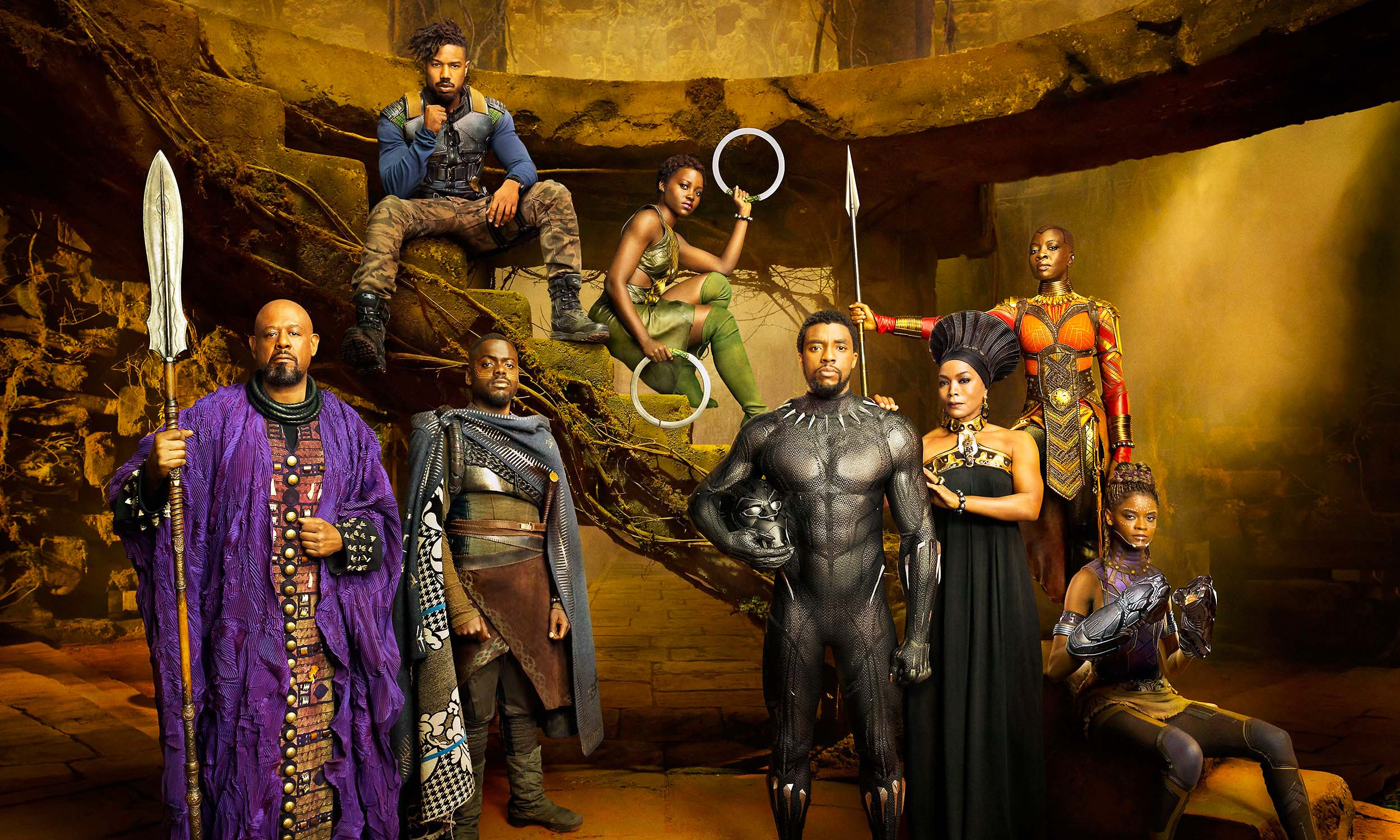 Black Panther Cast – Marvel Studios Black Panther Cast – Chadwic