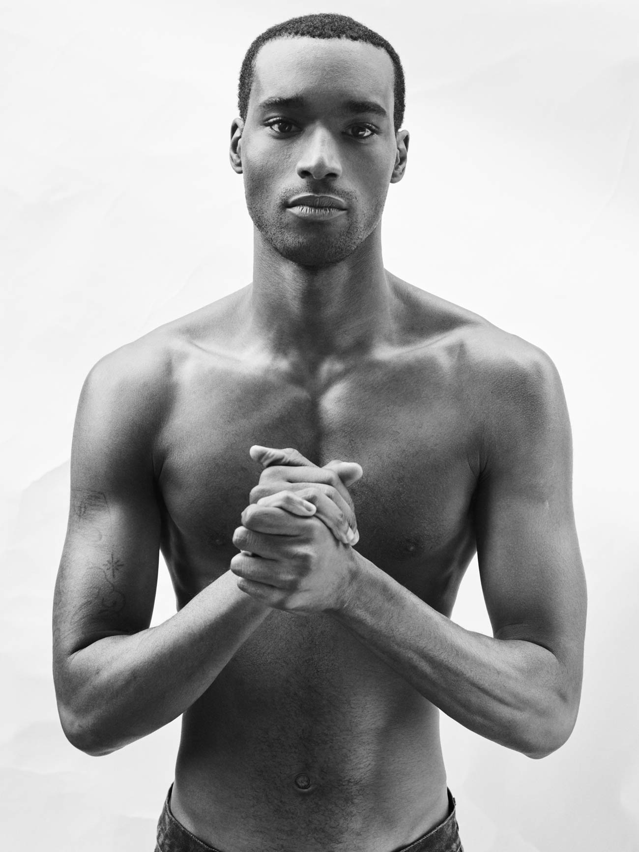 Corey baptiste by tomas hein top black male model story for sagaboi and sagaboi